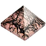 Rhodolite Pyramid - 159 gms