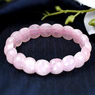 Rose Quartz Faceted Bracelet - II