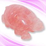 Rose Quartz Kurma - 589 gms