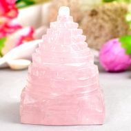 Rose Quartz Shree Yantra - 155 gms