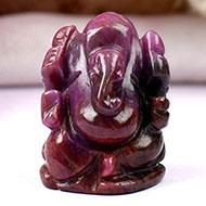 Ruby Ganesh - 66.70 carats