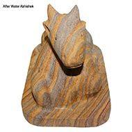 Sandstone  Nandi - 1.566 Kg
