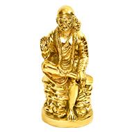 Shirdi Sai Baba In Brass