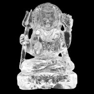 Shiva in Crystal - 93 gms