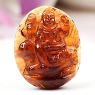 Shiva in Gomed - 24.45 carat