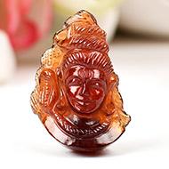 Shiva in Gomed - 29.05 carat