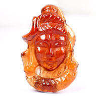 Shiva in Gomed - 7.10 carat