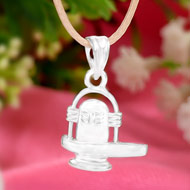 Shiva Locket in Pure Silver - XIII
