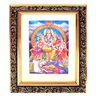 Shiva Parivar Frame - Design I