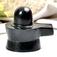 Shivlinga in Black Jade - 97 gms