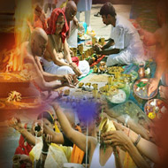 Puja for peace of departed soul
