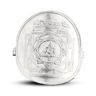 Shree Ganesh Yantra Ring in Silver