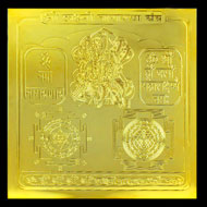 Shree Laxmi Narayan Yantra - 5 inches
