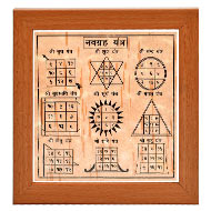 Navgraha Yantram on Bhojpatra