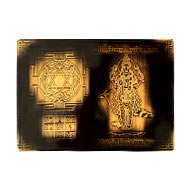 Shree Siddh Shani Yantra with photo