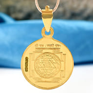 Shree Yantra in 22 ct Pure Gold