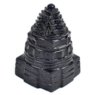 Shree Yantra in Blue Sun Stone - 155 gms