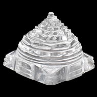 Shree Yantra in Sphatik - 38 gms