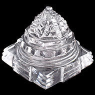 Shree Yantra in Sphatik - 44 gms