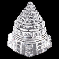Shree Yantra in Sphatik - 48 gms