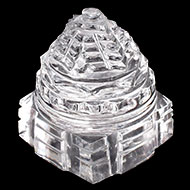 Shree Yantra in Sphatik - 49 gms - I