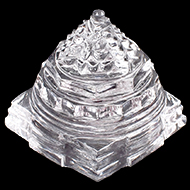 Shree Yantra in Sphatik - 50 gms - II