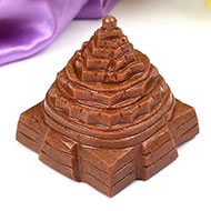 Shree Yantra in Sunstone - 172 gms