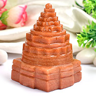 Shree Yantra in Sunstone - 205 gms