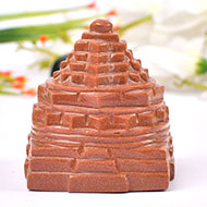 Shree Yantra in Sunstone - 341 gms