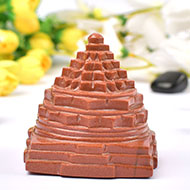 Shree Yantra in Sunstone - 398 gms