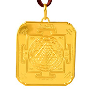 Shree Yantra locket - 24 ct pure gold