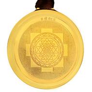 Shree Yantra Locket - Gold Plated