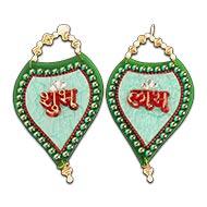 Shubh Labh acrylic set - IX