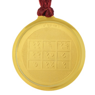 Shukra with Kamlantika Devi Yantra Locket - Gold Plated