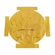 Siddh Meru Katayani Yantra - Gold Polish