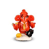Siddhivinayak Cowrie  Ganesh