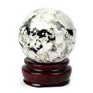 Snowflake Obsidian Ball