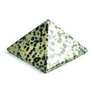 Snowflakes  Obsidian Pyramid - 83 gms