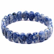 Sodalite  Bracelet - Faceted Beads