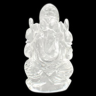Sphatik Crystal Ganesha - 122 gms