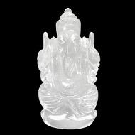 Sphatik Crystal Ganesha - 80 gms