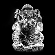 Sphatik Ganesha - 132 gms