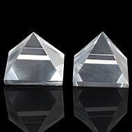 Sphatik Pyramid - Set of 2 - 19 gms