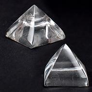 Sphatik Pyramid - Set of 2