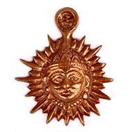 Sun Artifact for Vastu in copper - I