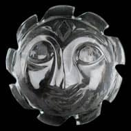 Surya Face in Crystal - 11 gms