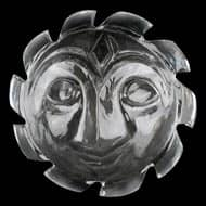 Surya Face in Crystal - 17 gms
