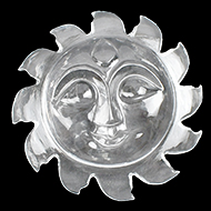 Surya Face in Crystal 21 to 30 gms