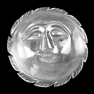 Surya Face in Crystal - 51 to 60 gms
