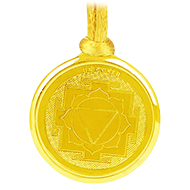 Tara Yantra Locket - Gold Plated